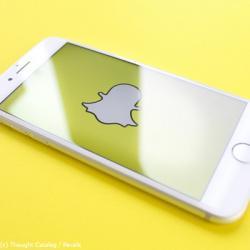 Social Media Kanäle SnapChat