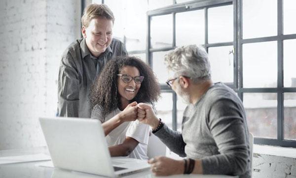 Social-Media Strategie für Unternehmen Team