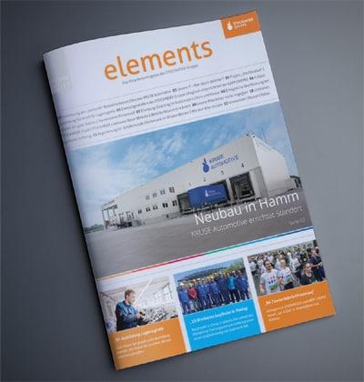 die Content-Agentur präsentiert das Stockmeier Mitarbeitermagazin