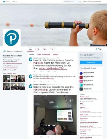 Agentur betreut Social Media Kanäle von Pearson Assessment