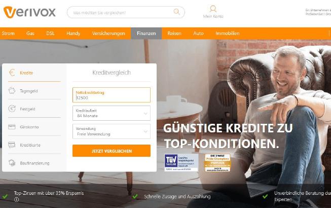 SEO Agentur Leipzig für Verivox mit Content