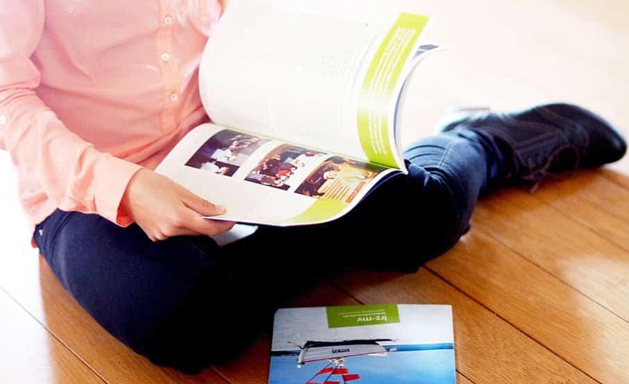 wer produziert Mitarbeiterzeitschriften