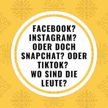 social media kanal auswählen